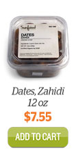 Add Zahidi Dates to cart