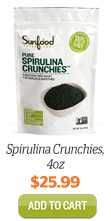 Add Spirulina Crunchies, 4oz to Cart