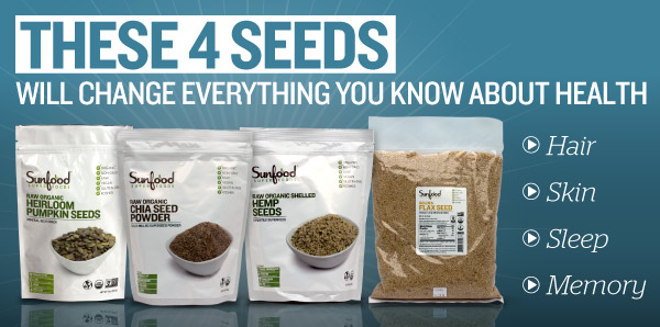 These 4 Seeds Will Change Everything You Know About Health