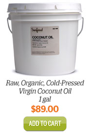 Add Coconut Oil 1 gal to Cart