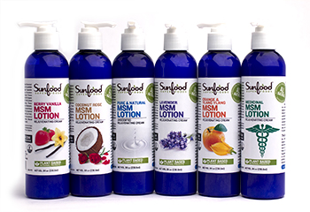 Sunfood MSM Lotions