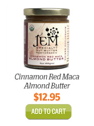 Add JEM Cinnamon Red Maca Almond Butter to Cart