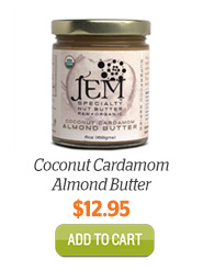 Add JEM Coconut Cardamom Almond Butter to Cart