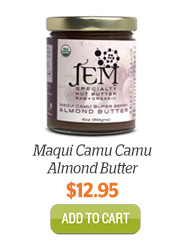 Add JEM Maqui Camu Camu Almond Butter to Cart