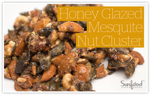 Honey Glazed Mesquite Nut Cluster