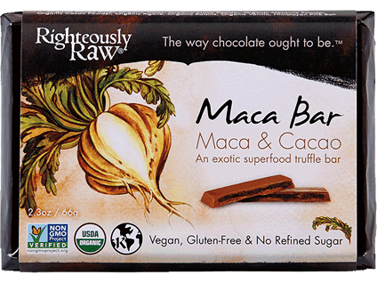 Righteously Raw, Maca Cacao Truffle Bar