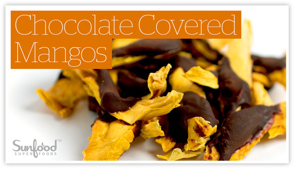 Chocolate Covered Mangos