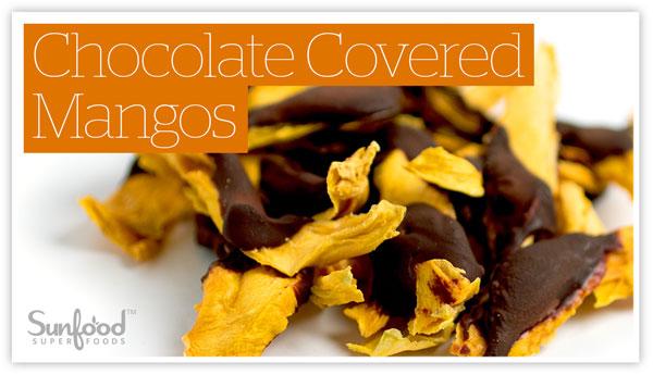 Chocolate Covered Mangos