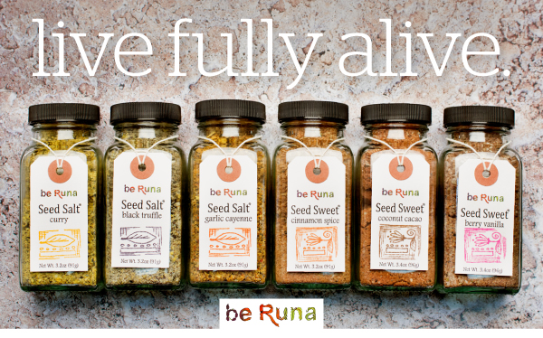be Runa Seed Salts and Seed Sweets