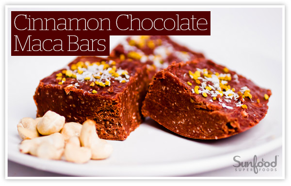 Cinnamon Chocolate Maca Bars