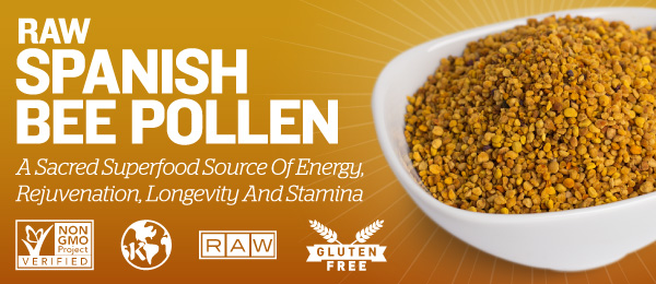 Raw Spanish Bee Pollen
