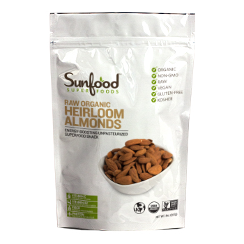 Sunfood Heirloom Almonds