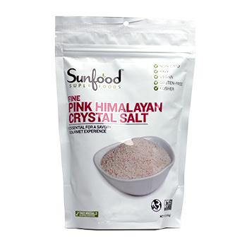 Sunfood Pink Himalayan Salt