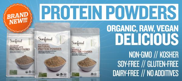 Sunfood Protein Powders