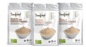 Sunfood Protein Powders