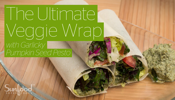 Ultimate Veggie Wrap