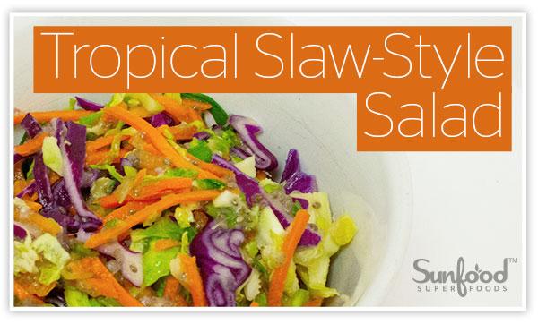 Tropical Slaw-Style Salad