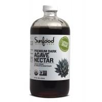 Sunfood Agave Nectar, Dark