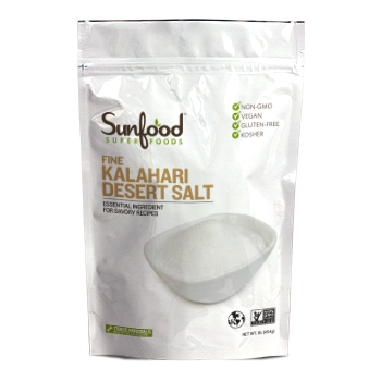 Sunfood Kalahari Salt, Fine