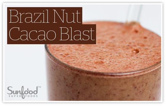 Brazil Nut Cacao Blast recipe