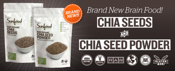 Sunfood Chia Seeds and Powder