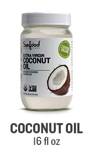 Sunfood Coconut Oil, 16floz