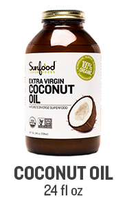 Sunfood Coconut Oil, 24floz