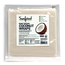 Sunfood Coconut Wraps