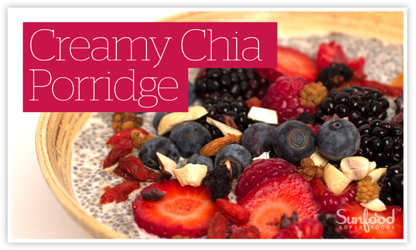 Creamy Chia Porridge Recipe
