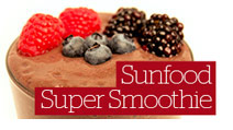 Sunfood Super Smoothie Recipe