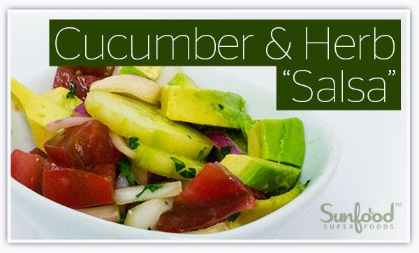 Cucumber & Herb Salsa