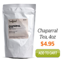 Add Chaparral Tea, 4oz to Cart