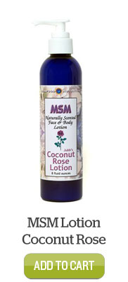 Add MSM Lotion Coconut Rose to Cart