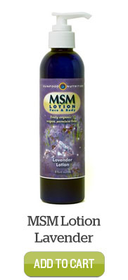Add MSM Lotion Lavender to Cart