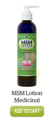Add MSM Lotion Medicinal to Cart