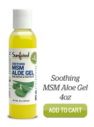 Add MSM Aloe Gel, 4oz to Cart