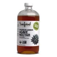 Sunfood Amber Agave Nectar 32oz