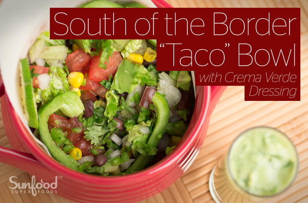 "South of the Border ""Taco"" Bowl"
