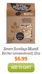 Add Seven Sundays Muesli, Bircher to Cart