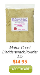 Add Maine Coast Bladderwrack Powder, 1lb to Cart