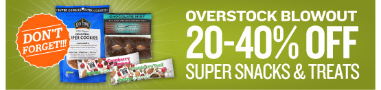 Snacks Blowout Sale!
