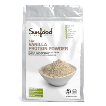 Sunfood Vanilla Protein Powder