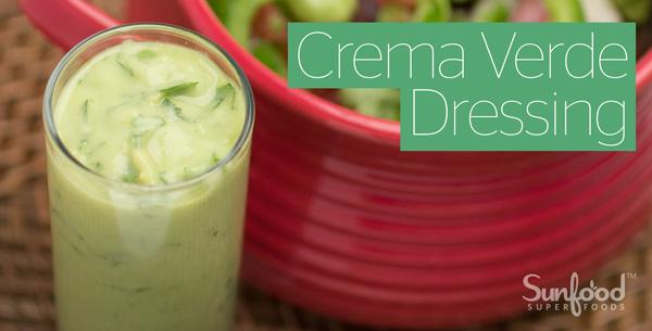Crema Verde Dressing