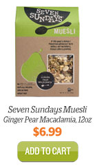 Add Seven Sundays Muesli, Ginger Pear Macadamia to Cart