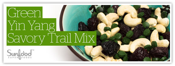 Green Yin Yang Savory Trail Mix
