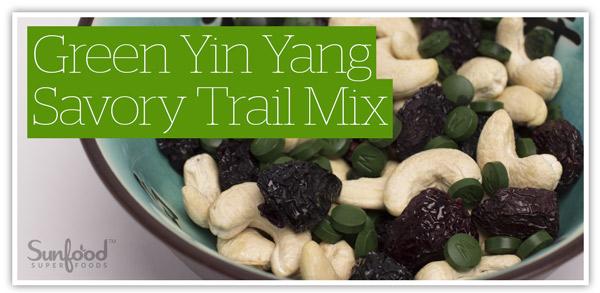 Green Yin Yang Savory Trail Mix