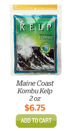 Add Maine Coast Kombu Kelp, 2oz to Cart