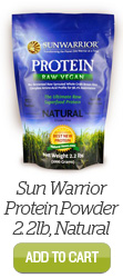 Add Sun Warrior Protein Powder, 2.2lb Natural to Cart