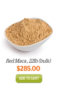 Add Red Maca Powder, 22lb (bulk) to Cart