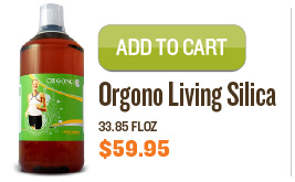 Orgono Living Silica, 33.85 fl.oz.
